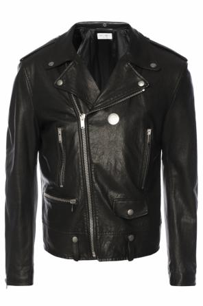 Leather jacket od Saint Laurent